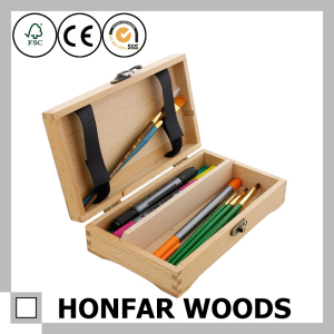 Modern High-Quality Solid Wooden Gift Box Packaging Box