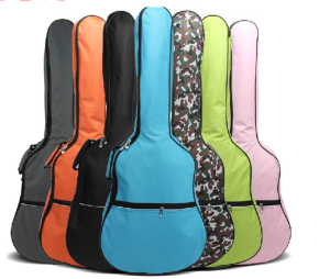 Multi- Many Multicolored Guitar Bag