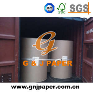 Pure White Virgin 60GSM Offset Printing Paper in Roll