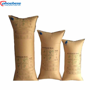 Recycled Brown Dunnage Bags Kraft Paper for Protection of Glass