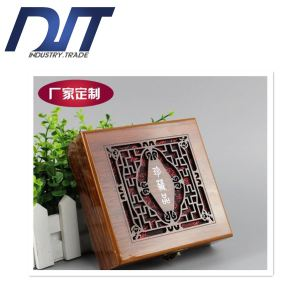 Professional Flower Painting Jewelry Wooden Box for Medal